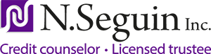 N.Séguin inc. Financial recovery Logo